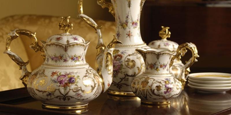 Antikes Porzellan sammeln