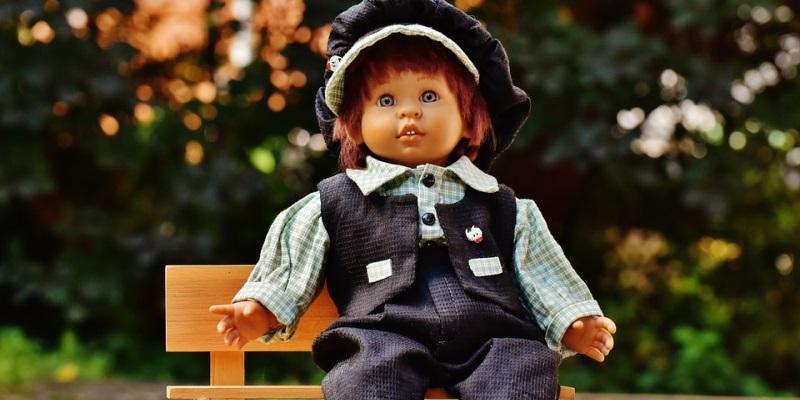 deutsche antike Puppen