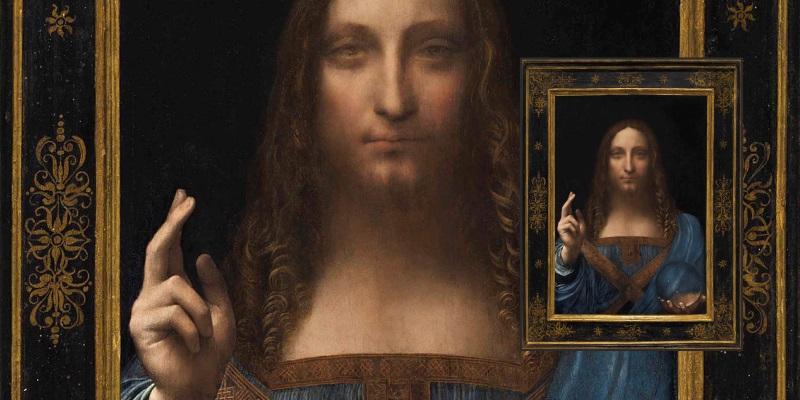 "Leonardo da Vinci Gemälde ""Salvator Mundi"""