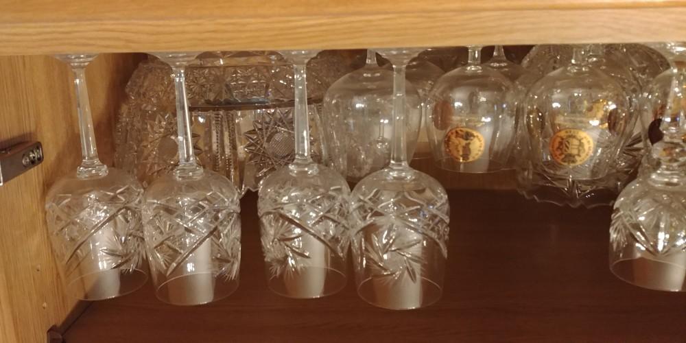 Gläser, Vasen und Schalen