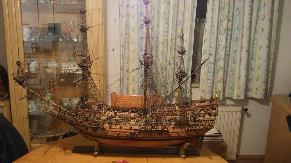 Modellsegelschiff