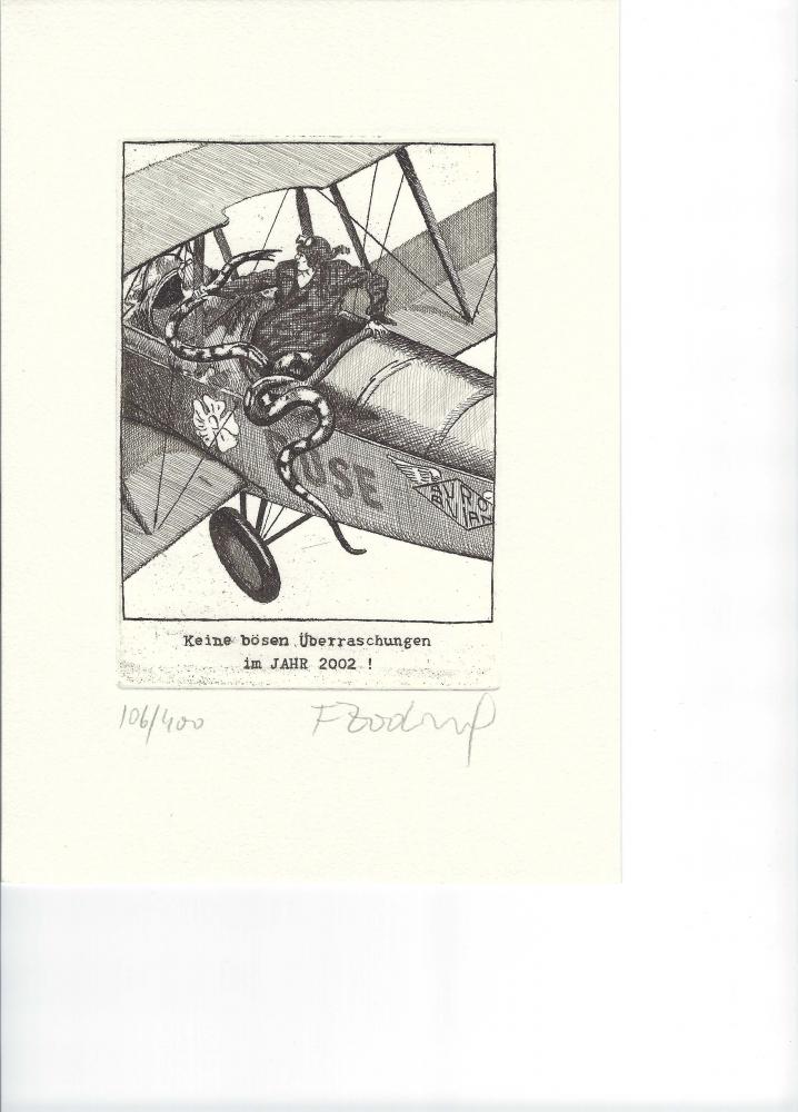 Originalradierungen Franz Zadrazil und Andrea Kasamas