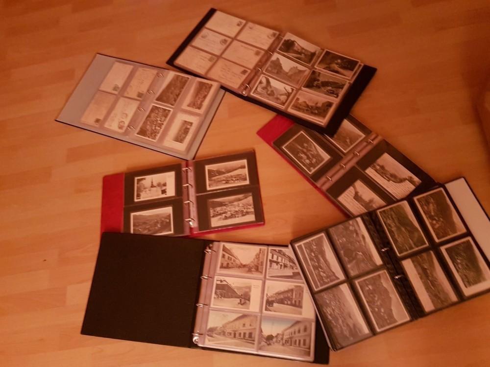 500 Ansichtskarten - Original-Lithographien