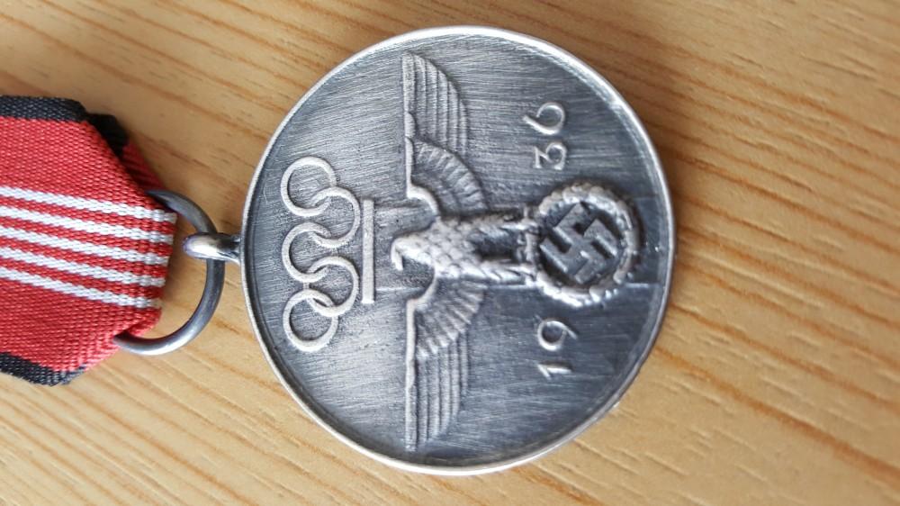 Erinnerungsmedaille der Olympischen Sommerspiele 1936