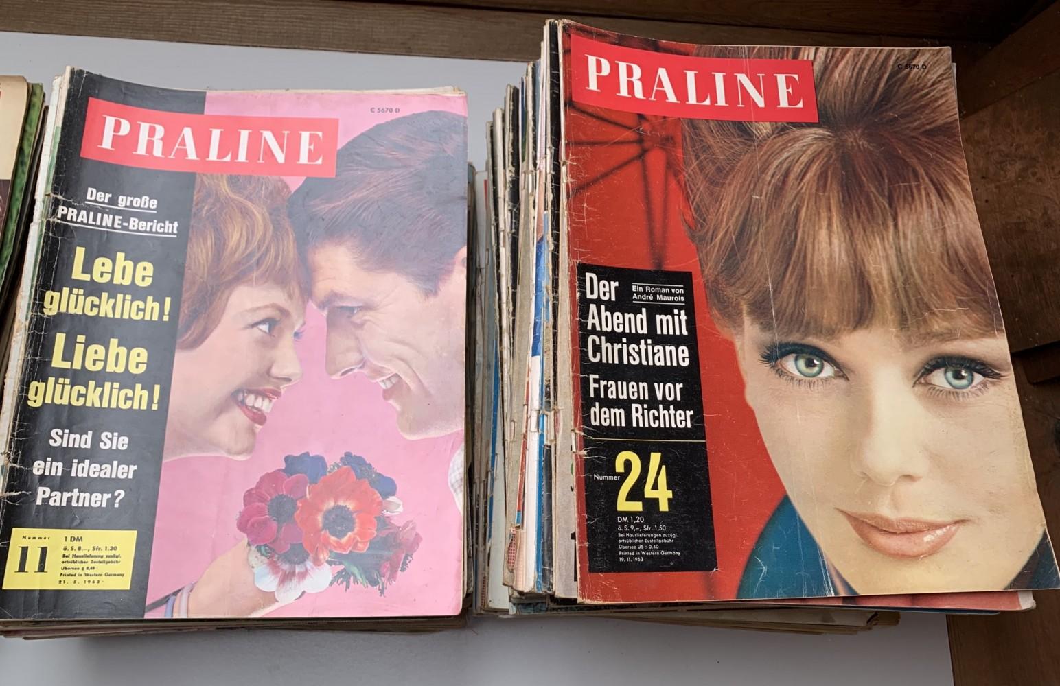 Alte Magazine und Zeitschriften