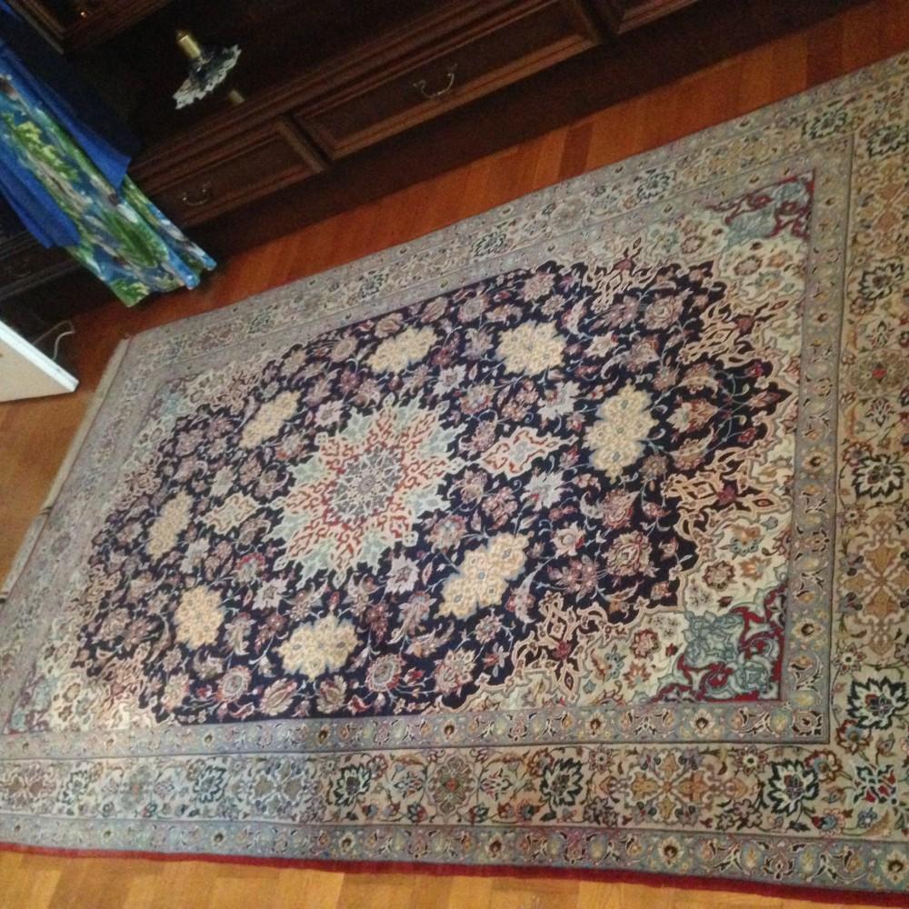 Isfahan Teppich made by Seirafian