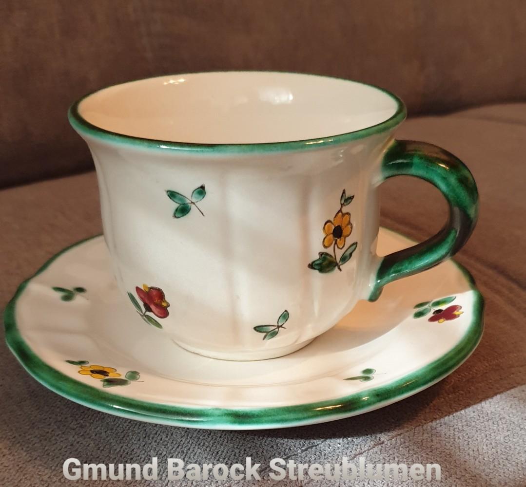 Gmund Barock Streublumen Kaffeetasse