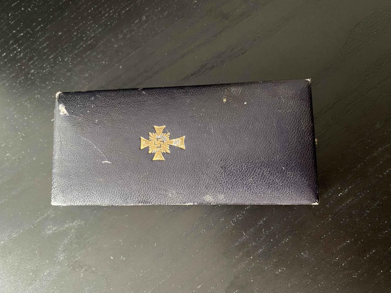 Mutterkreuz aus dem Jahre 1938