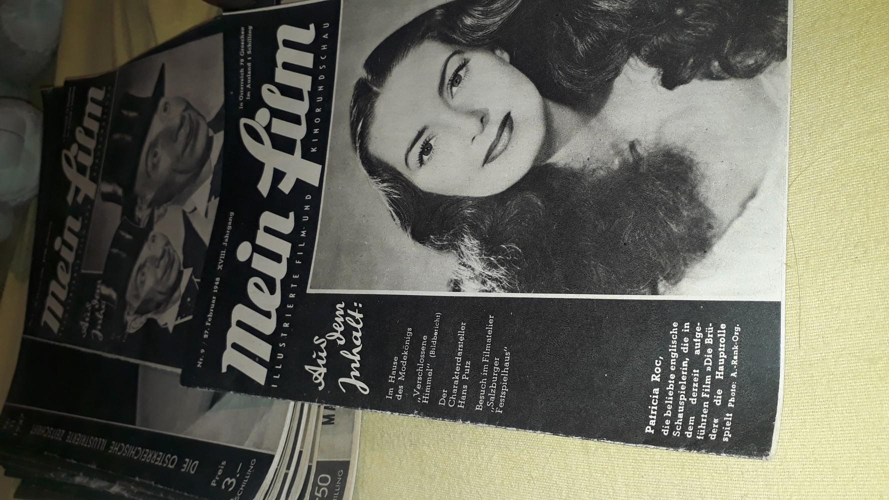Filmhefte jahrgang 1947 und 1948